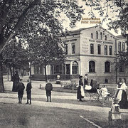 Aschersleben  1914  Hotel Schmidt
