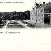 Aschersleben  1898  Amtsgericht u. Höhere Mädchenschule