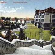 Aschersleben  1920  Stephani - Schule