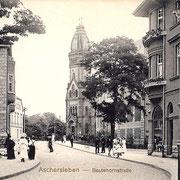 Aschersleben  1914  Bestehornstraße