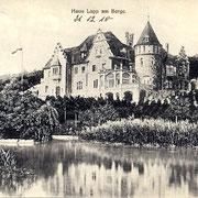 Aschersleben  1910  Haus Lapp am Berge