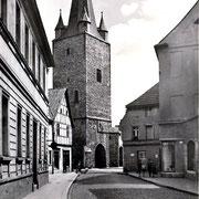 Aschersleben  1958  Johannisturm