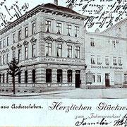 Aschersleben  1902  Gasthof zur Deutschen Eiche