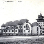 Aschersleben  1913  Stadtbad
