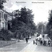 Aschersleben  1898  Wilhelms - Promenade