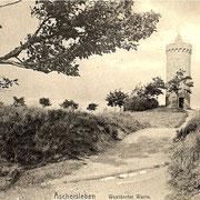 Aschersleben  1900  Westdorfer Warte