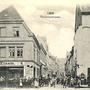 Aschersleben  1898  Taubenstrasse