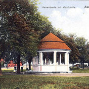 Aschersleben  1919  Herrenbreite mit Musikhalle