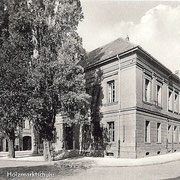 Aschersleben  1958  Holzmarktschule