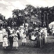 Aschersleben  1910  Sedanfest