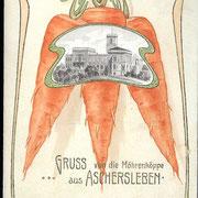 Aschersleben  1925  von die Möhrenköppe