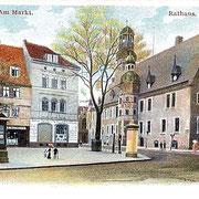 Aschersleben  1898  Am Markt · Rathaus