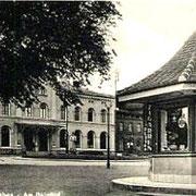 Aschersleben  1956  Bahnhof