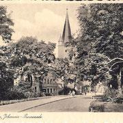 Aschersleben  1929 Johannis - Promenade