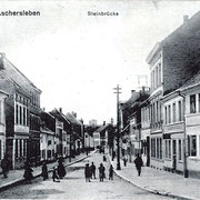 Aschersleben  1914  Steinbrücke