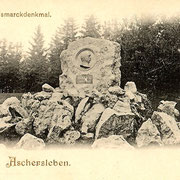 Aschersleben  1898  Bismarckdenkmal