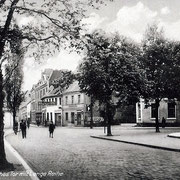 Aschersleben  1928  Hohes Tor mit Lange Reihe