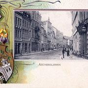 Aschersleben  1900  Breitestrasse