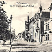 Aschersleben  1910  An der Herrenbreite (Westseite)