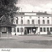 Aschersleben  1930  Bahnhof