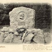 Aschersleben  1899  Bismarckdenkmal