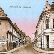 Aschersleben  1912  Hohestraße