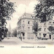 Aschersleben  1913  Johannispromenade · Herrenbreite