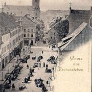 Aschersleben  1895  Markt