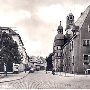 Aschersleben  Am Rathaus
