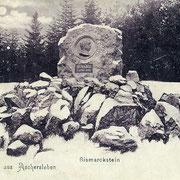 Aschersleben  1899  Bismarckstein