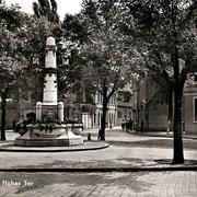Aschersleben  1959  Hohes Tor
