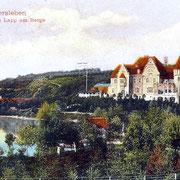 Aschersleben  1928  Landsitz Haus Lapp am Berge