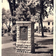 Aschersleben  1938  Hindenburg - Gedenkstein