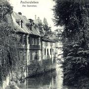 Aschersleben  1920  Am Dammtor