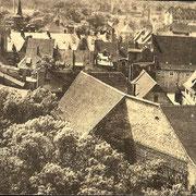 Aschersleben  1940  Blick auf die Augustapromenade