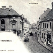 Aschersleben  1898  Hohestrasse