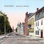 Aschersleben1910  Herrenbreite, Westseite