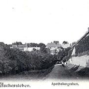 Aschersleben  1899  Apothekergraben