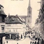 Aschersleben  1898  Hinter dem Thurm