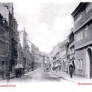 Aschersleben  1910  Breitestrasse