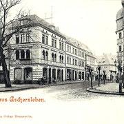 Aschersleben  1897  Markt