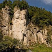 Der Rote Fels im Pegnitztal | © Bernhard Thum, ID-Nummer HE-XX-20XX-006