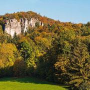 Herbstlicher Wald im Hirschbachtal | © Bernhard Thum, Bild-ID HE-XX-20XX-008