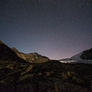 Starry night at Balfrin, Bordierhütte, Wallis | © Bernhard Thum, ID-Nummer GS-04-2015-007