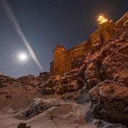 Burg Hohenstein am westlichen Ortsrand von Hohenstein in der Hersbrucker Alb. | © Bernhard Thum, Bild-ID HE-12-2014-001