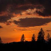 Sunset at  Winklmooosalm, Chiemgau, Bayern | © Bernhard Thum, ID-Nummer GS-04-2015-005
