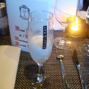 Ingwer-Zitronen-Sorbet mit Prosecco