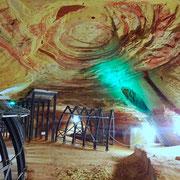 ......Bunt-Sandstein-Höhle in Homburg.