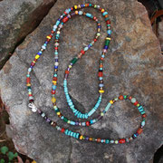 Multi Gems with Turquoise $55