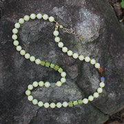 Chinese Jade with Jasper and Sterling  $45